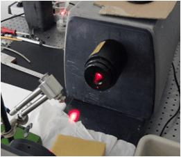 Espectrómetro de difracción láser para la medición de tamaños de gota en aerosoles