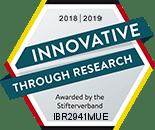 IBR ha sido galardonado por sus actividades de investigación. Un premio otorgado por:  Fundación para la ciencia alemana
